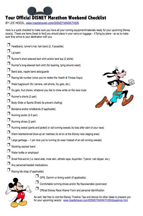 Lee Hoedl S Disney World Goofy Dopey Challenge Timeline Tips