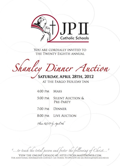 silent auction invitation